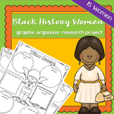 Black History Women Graphic Organisers | Printable Worksheets | Research