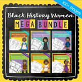 Women's History Month Black History Women Graphic Organizers