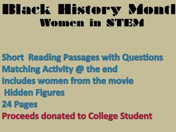 Black History -Women in STEM