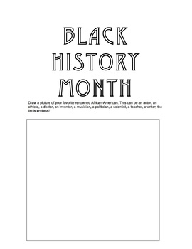 Black History Worksheets: Q & A, Vocabulary, Writing