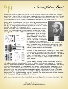 Black History Worksheets and Lessons - K - 12