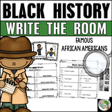 Black History Write the Room - Black History Month Activities