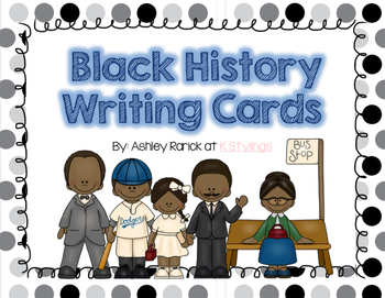 Black History Writing Cards