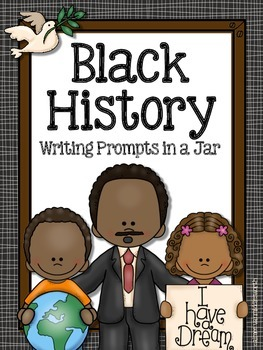 Black History Writing Prompts in a Jar