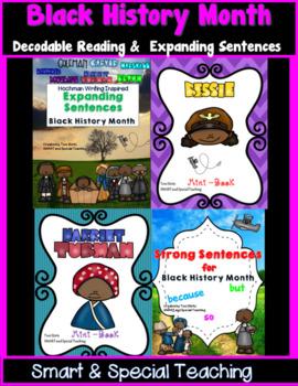 Black History Writing and Reading Bundle (Hochman Writing Method Inspired)