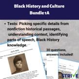 Black History and Culture Bundle 1A