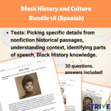 Black History and Culture Bundle 1A Spanish Version
