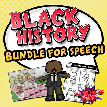 Black History for Speech and Language