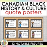 Black History in Canada - Posters - Quotes