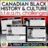 Black History in Canada - S.T.E.A.M. Challenges