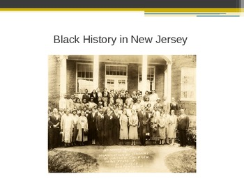 Black History in New Jersey