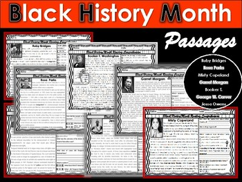 Black History Month Passage FREEBIE