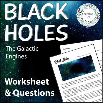 Black Holes - Worksheet & Questions