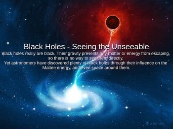 Black Holes Power Point