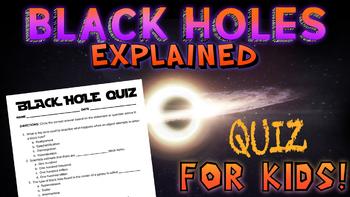 Black Holes Quiz