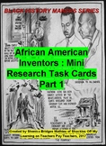 Black Inventors Research Task Cards