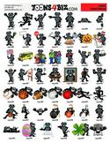 Black Jaguar Clipart Set
