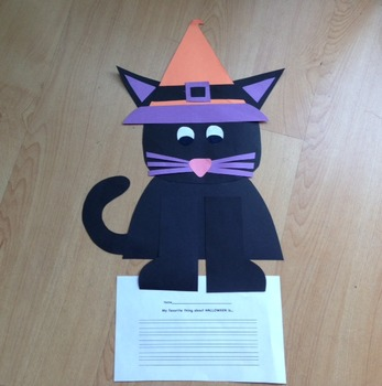 Black Kitty Cat- A Halloween Craft