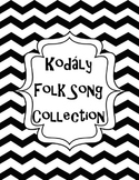 Black Kodaly Binder Cover/ Dividers / Classroom Posters