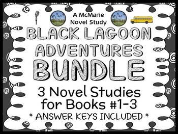 Black Lagoon Adventures BUNDLE (Mike Thaler) 3 Novel Studies : Books #1-3
