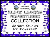 Black Lagoon Adventures COLLECTION (Thaler) 32 Novel Studies : Books #1-32