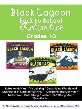 Black Lagoon Back to School Activities