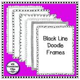 Black Line Doodle Frames