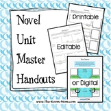Reading Comprehension Graphic Organizers for any novel study