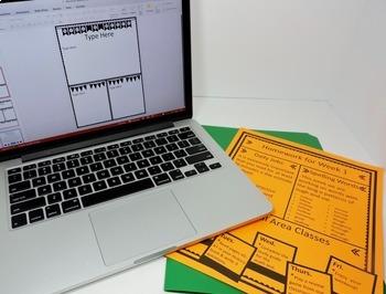 Newsletter Templates - Editable Black and White