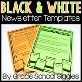 Blackline Newsletter: 16 Newsletter Templates