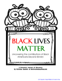 Black Lives Matter: Contributions of Black Americans Beyon