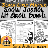 Black Lives Matter & Social Justice Lit Circle Unit Bundle