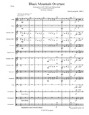 Black Mountain Overture (Beginning Band, Level .5)