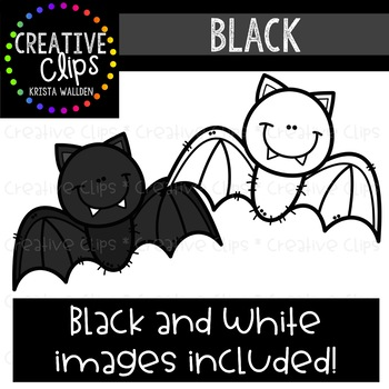 Black Objects Clipart {Creative Clips Clipart}
