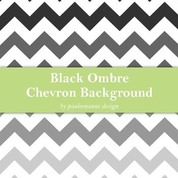 Black Ombre Chevron Background