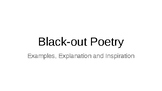 Black Out Poetry - An Explanation, Examples and Inspiration