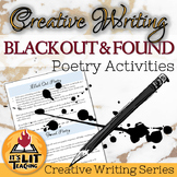 Black Out and Found Poetry Activity for High School Creati
