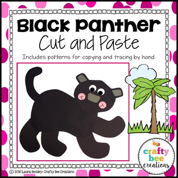 Black Panter Cut and Paste