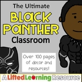 Classroom Decor - Black Panther