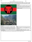 Black Panther Film: Primary Source Analysis Activity