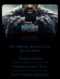 Black Panther Movie with Informational Text