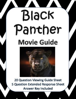 Black Panther Movie Guide - New Product!