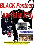 Black Panther Movie Activity (Project, Standards, Rubric,