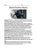 Black Panther Movie - Overview background facts questions review