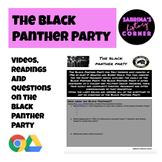 Black Panther Party Worksheet