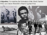 Black Panther Party and the March Against Fear PowerPoint