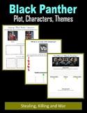 Black Panther - Plot, Characters, Themes (Stealing, Killing, War)