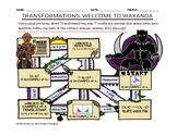 Black Panther Transformations Maze