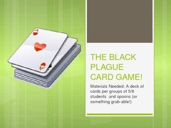 Black Plague card game - Middle Ages