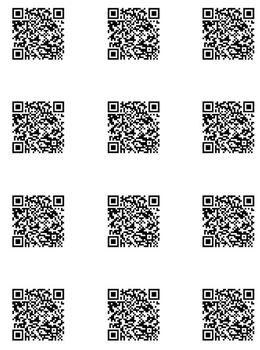 Black - QR Code Class Format